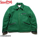 No.SC13670 SUGAR CANE シュガーケーン30oz. WOOL MELTONSPORTS JACKET