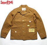 No.SC14374SUGARCANEシュガーケーンBROWNDUCKWORKCOAT