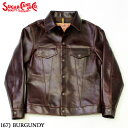 """No.SC80568 SUGAR CANE シュガーケーン""""HORWEEN"""" HORSEHIDELEATHER JACKETMade in U.S.A."""