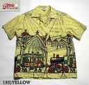 "No.SH37885 STAR OF HOLLYWOODDOBBY COTTON SHIRT""STEAM TRAIN"""