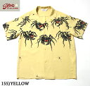 "No.SH37875 STAR OF HOLLYWOODHIGH DENSITY RAYON OPEN SHIRT""TARANTULA"""
