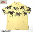 "No.SH37874 STAR OF HOLLYWOODHIGH DENSITY RAYON PULLOVER SHIRT""TARANTULA"""
