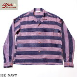 "No.SH28381STAROFHOLLYWOODHIGHDENSITYRAYONL/SOPENSHIRT""STRIPES"""