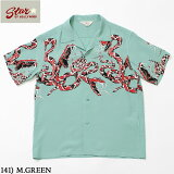 "No.SH38378STAROFHOLLYWOOD/スターオブハリウッドHIGHDENSITYRAYONSHIRT""RATTLESNAKE"""