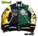 No.WV14008 WHITESVILLE ホワイツビル30oz. Wool MeltonCrazy Pattern Award Jacket