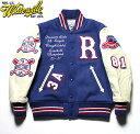 """No.WV14214 WHITESVILLE ホワイツビル30oz. Wool Melton Award Jacket""""ROUGHRIDERS"""""""