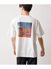 [Rakuten Fashion]【SALE/50%OFF】フォトプリント Tシャツ JUNRed ジュンレッド カットソー カットソーその他 ホワイト ベージュ ネイビー【RBA_E】