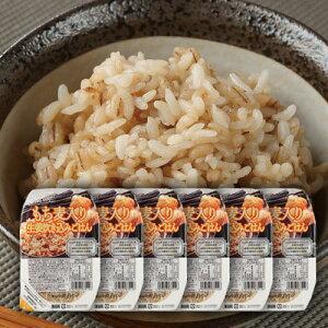もち麦入り 生姜炊き込みご飯 150g×6個セット 雑穀米 雑穀ご飯 ご飯 ごはん レトルト パック パックご飯 一人分 一人前