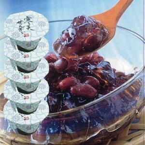 寒天ぜんざい 125g×5個セットぜんざい 小豆 寒天 夏 スイーツ デザート 和菓子 おしるこ しるこ お汁粉
