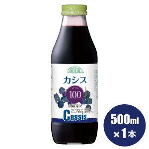 無添加 果汁100% カシス100 500ml×1本 順造選 カシスジュース ジュース 100%