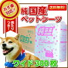New! Purely domestic pet sheet size 300 little pieces soft renewal! * * compatible