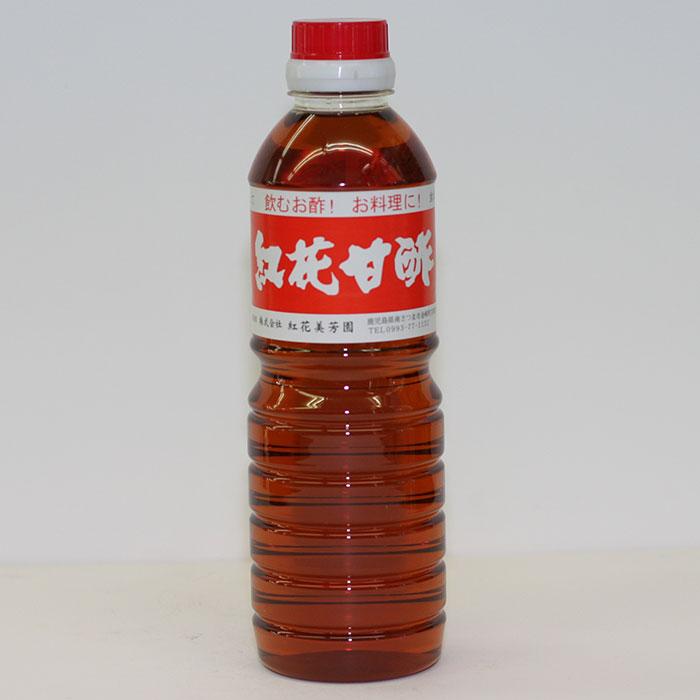 【送料無料】【ケース販売】紅花美芳園 紅花 甘酢 500ml×20本