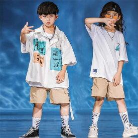 ダンス 衣装 ヒップホップ キッズ ダンス 衣装 男女兼用 キッズダンス衣装 セットアップ 韓国 子供 ヒップホップ 衣装 パンツセット ダンストップス キッズ ヒップホップウエア