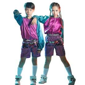 キッズダンス衣装 キッズ ダンス 衣装 ヒップホップ アウター ダンスジャケット キッズ ダンス衣装 ダンストップス 子供 男の子 女の子 ジャズダンス 練習着 110cm 120cm 130cm 140cm 150cm 160cm 170cm