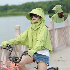 uvカット帽子 接触冷感 UV帽子 自転車 100%完全遮光 帽子 熱中症対策 蚊 防虫 日よけ UPF50 紫外線防止 日焼け止め