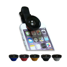 6ヵ月保証 セルカレンズ 超広角 0.4x 広角 ワイド 接写 マクロ クリップ式 セルカ棒 自撮り棒 スマートフォン スマホ カメラ レンズ じどりレンズ 自撮りレンズ iPhoneX iPhone8 android iPhone7 iPhone6 iPhone6s Plus iPhone5 5S Galaxy xperia nexus