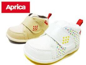 Aprica アップリカ AC0010 STEP1 ホワイト ベージュ ベビーシューズ ファーストシューズ ベビー靴 子ども スニーカー シューズ 12cm 12センチ 子供の靴 子供靴 男の子 女の子 ファースト 靴 赤ちゃん用品 ベビー用品 白 おしゃれ かわいい 可愛い プレゼント 贈り物