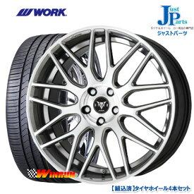 送料無料 225/50R18ウィンラン WINRUN R330新品 サマータイヤ ホイール4本セットWORK RYVER M009 ワーク18インチ 7.0J 5H114.3HSP