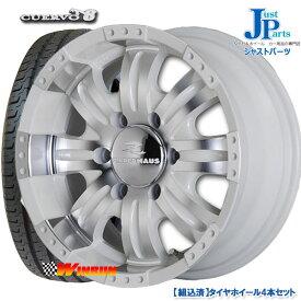送料無料215/65R16 109/107Rウィンラン(WINRUN) R350新品 サマータイヤ ホイール4本セットCUERVO816インチ 6.5J +38 6H139.7ホワイトポリッシュ