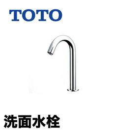 【工事対応不可】[TENA22AL]TOTO 洗面水栓 ワンホールタイプ アクアオート(自動水栓) サーモスタット混合栓 AC100Vタイプ 排水栓なし コンテンポラリタイプ 洗面台 洗面所 蛇口 おしゃれ