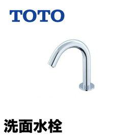 【工事対応不可】[TENA22AW]TOTO 洗面水栓 ワンホールタイプ アクアオート(自動水栓) サーモスタット混合栓 発電タイプ 排水栓なし コンテンポラリタイプ 洗面台 洗面所 蛇口 おしゃれ