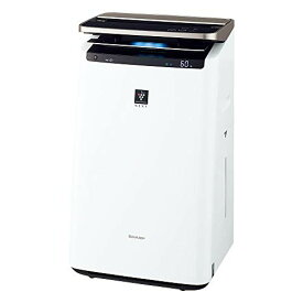 シャープ 加湿 空気清浄機 プラズマクラスター NEXT(50000) プレミアム 23畳 / 空気清浄 40畳 自動掃除 2019年モデル ホワイト KI-LP100-W