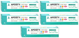 【送料無料】 アポスティークリーム|15g入×5個セット|第2類医薬品|ゼリア新薬