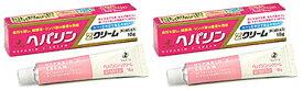 【送料無料】ヘパリンZクリーム 18g×2個セット|第2類医薬品|ゼリア新薬