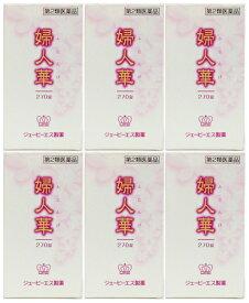 【送料無料】 JPS 婦人華N 270錠入×6個セット 第2類医薬品 ジェーピーエス製薬 フジンゲ