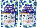 【送料無料】かんでおいしいチュアブルサプリ ブルーベリー&ルテイン|オリヒロ|120粒入(30日分)×2個セット