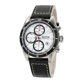 【レビューで1万円クーポン&5年保証】エベラール Eberhard チャンピオンV CHAMPION-V ホワイト メンズ 新品 腕時計 ブランド
