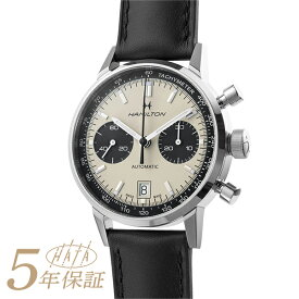 【ハミルトンフェア 2000円OFFクーポン対象】 ハミルトン アメリカンクラシック イントラマティック オート クロノ 腕時計 HAMILTON AMERICAN CLASSIC INTRA-MATIC AUTO CHRONO H38416711 ホワイト メンズ ブランド 時計 新品