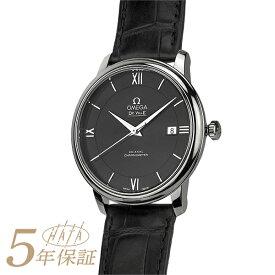 【1周年感謝祭 10000円OFFクーポン】 オメガ デ・ヴィル プレステージ 腕時計 OMEGA DE VILLE PRESTIGE ブラック メンズ ブランド 時計 新品