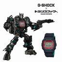 限定モデル G-SHOCK × TRANSFORMERS トランスフォーマーコラボ ジーショック DW-5600TF19-SET 腕時計