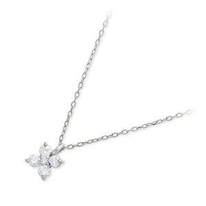 Jセレクション プラチナ ネックレス シンプル ホワイト 20代 30代 彼女 レディース 人気 ブランド