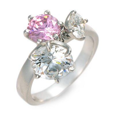 me. ミー シルバー リング 指輪 ピンク 20代 30代 彼女 レディース 人気 ブランド