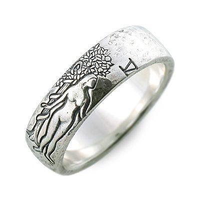 M's collection エムズコレクション シルバー リング 指輪 ホワイト 20代 30代 彼氏 メンズクリスマス