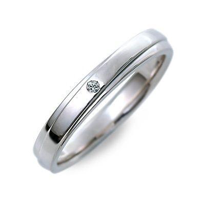 【店内全品ポイント10倍】結婚指輪 マリッジリング プラチナ ダイヤモンド ホワイト 20代 30代 楽ギフ_包装 smtb-m