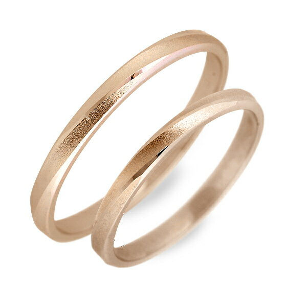 WISP ピンクゴールド ペアリング 婚約指輪 結婚指輪 エンゲージリング 20代 30代 彼女 彼氏 レディース メンズ カップル ペア 誕生日プレゼント 記念日 ギフトラッピング あす楽 ウィスプ 送料無料