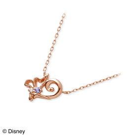 THE KISS Disney ピンクゴールド ネックレス ダイヤモンド ハート 彼女 レディース 女性 誕生日プレゼント 記念日 ギフトラッピング ザキッス ザキス ザ・キッス ディズニー Disneyzone シンデレラ プリンセス 送料無料