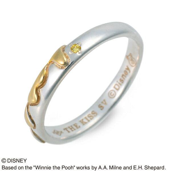 送料無料 THE KISS Disney シルバー リング 指輪 婚約指輪 結婚指輪 エンゲージリング 20代 30代 彼女 彼氏 レディース メンズ ユニセックス 誕生日プレゼント 記念日 ギフトラッピング ザキッス ザキス ザ・キッス ディズニー Disneyzone プーさん バレンタイン