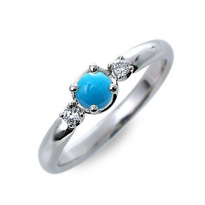 婚約指輪 エンゲージリング プラチナ ターコイズ ホワイト 20代 30代 彼女 レディース