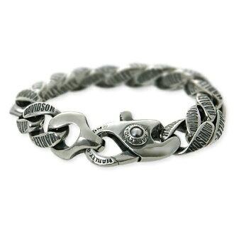 Harley-Davidson /Harley-Davidson (R) by Thierry Martino / men's / silver / bracelet