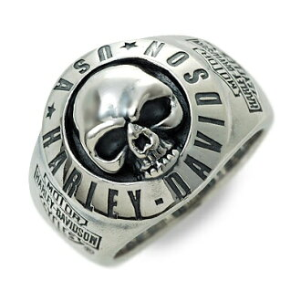 Harley-Davidson /Harley-Davidson (R) by Thierry Martino / men's / silver / ring / ring