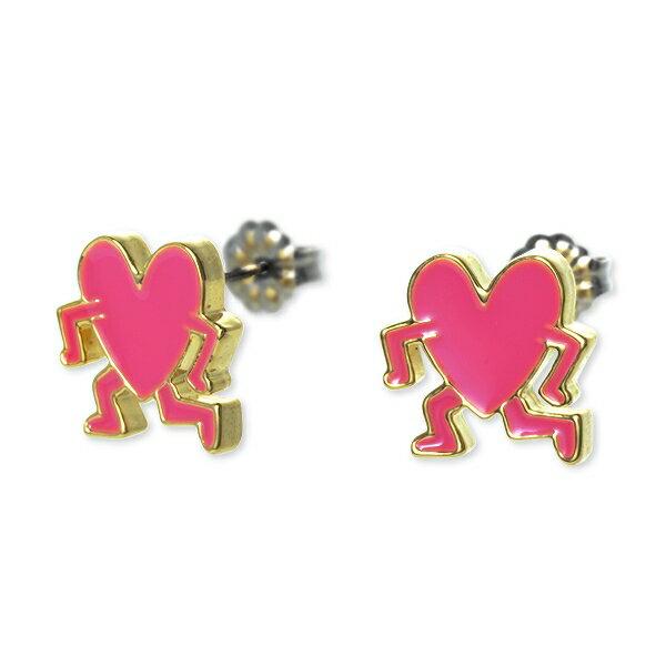 Keith Haring キースヘリング ピアス ピンク 20代 30代 彼女 レディース 人気 ブランド