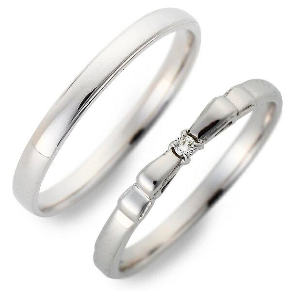 送料無料 JURER DEUX ホワイトゴールド ペアリング 婚約指輪 結婚指輪 エンゲージリング ダイヤモンド 20代 30代 彼女 彼氏 レディース メンズ カップル ペア 誕生日プレゼント 記念日 ギフトラッピング ジュレドゥ バレンタイン