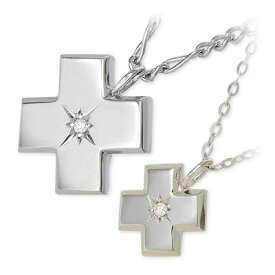 KENBLOOD ケンブラッド シルバー ペアネックレス ダイヤモンド ホワイト ブランドクリスマス 12月