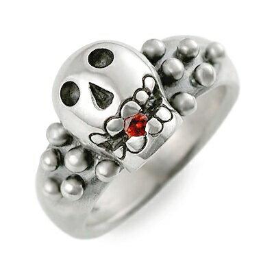 【店内全品ポイント10倍】ましらかしら シルバー リング 指輪 ガーネット ホワイト 20代 30代 彼女 レディース 母の日