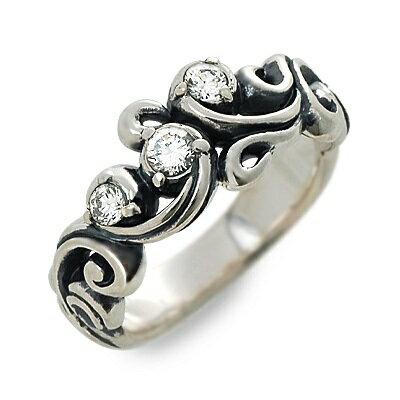 M's collection エムズコレクション シルバー リング 指輪 キュービック グレー 20代 30代 彼女 レディースクリスマス