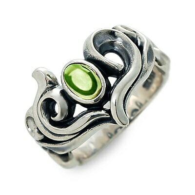 M's collection エムズコレクション シルバー リング 指輪 ペリドット ホワイト 20代 30代 彼女 レディース